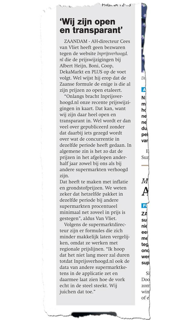 LevensmiddelenKrant week 14 pagina 1